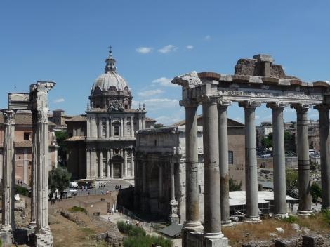 Forum romain Rome Italie