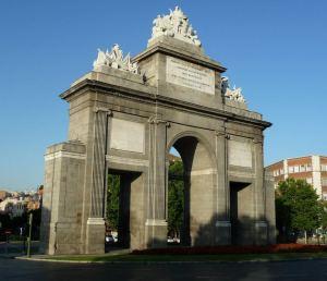 Puerta Toledo Madrid