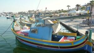 Port de Marsaxlokk et ses Luzzu.
